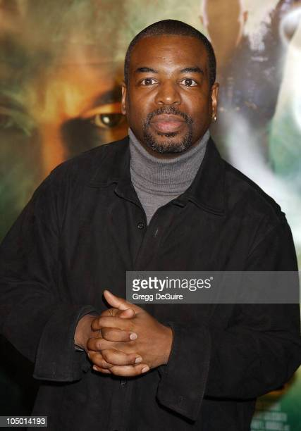 LeVar Burton during 'Star Trek Nemesis' World Premiere at Grauman's Chinese Theatre in Hollywood California United States