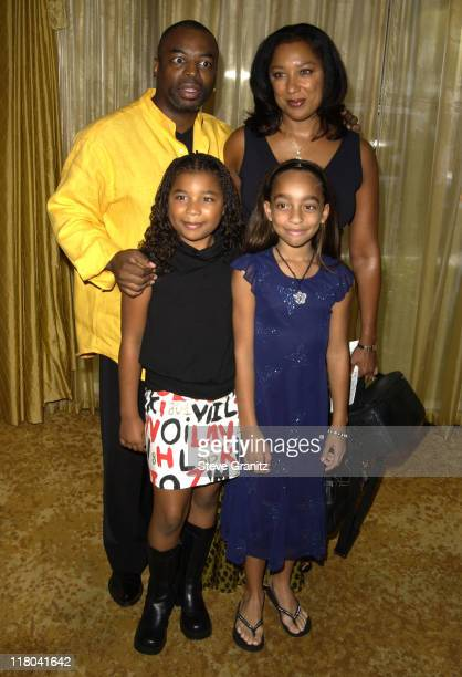 Levar Burton & Family during 5th Annual Lullabies & Luxuries Luncheon and Fashion Show Benefiting Caring for Children & Families With AIDS at Regent...