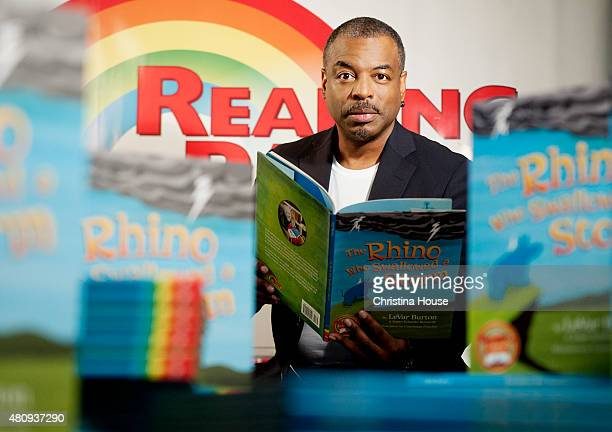 LeVar Burton is photographed for Los Angeles Times on May 12 2015 in Los Angeles California