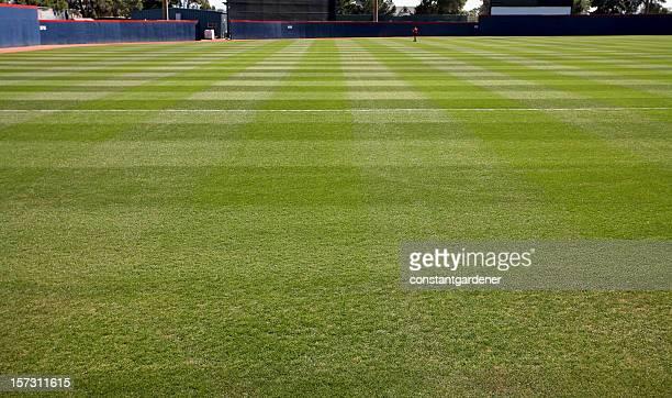Level Playing Field At Baseball Diamond