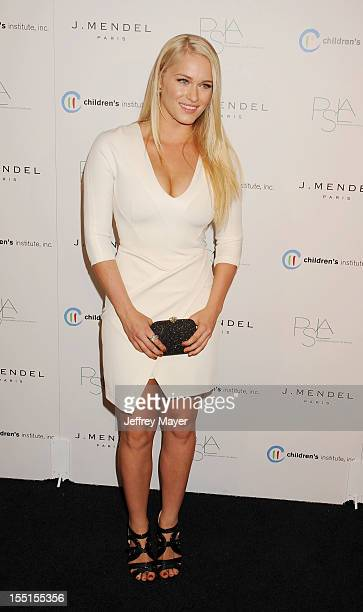 Leven Rambin arrives at the 3rd Annual Autumn party at The London West Hollywood on October 17, 2012 in West Hollywood, California.