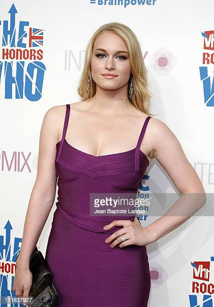 Leven Rambin arrives at the VH1 Rock Honors Exclusive VIP Party at Intermix on July 11 2008 in Los Angeles California