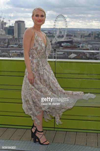 Leven Rambin attends a photocall for Universal Channel's new series Gone on March 8 2018 in London England