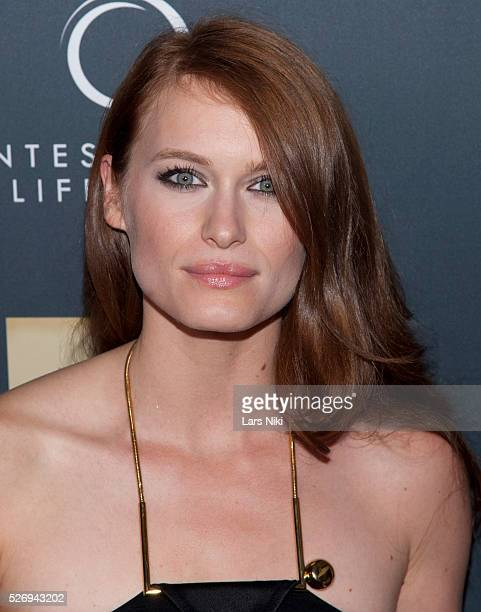 Leven Rambin attends Jeremy Scott The' People's Designer New York premiere at the Paris Theatre in New York City �� LAN