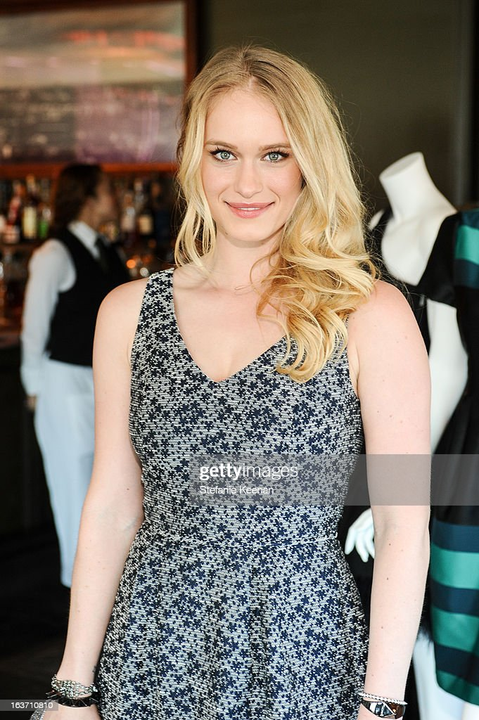 Leven Rambin attends L.K. Bennett Tea Luncheon on March 14, 2013 in West Hollywood, California.