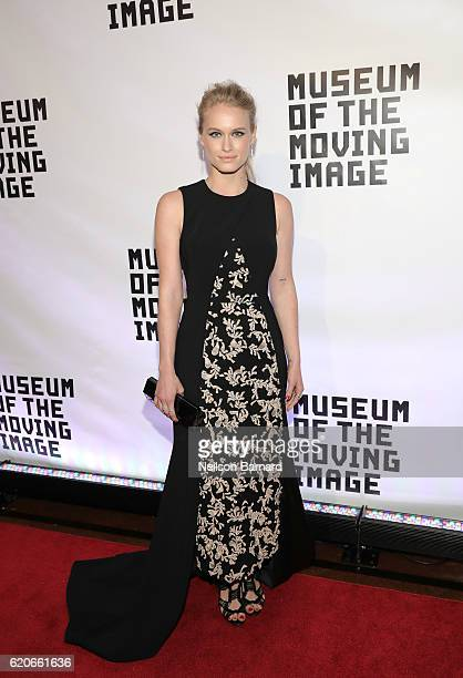 Leven Rambin attends Museum Of The Moving Image 30th Annual Salute honoring Warren Beatty at 583 Park Avenue on November 2 2016 in New York City