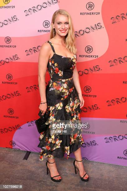 Leven Rambin attends Refinery29's 29Rooms Opening Night on September 5 2018 in Brooklyn New York