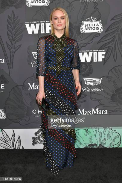 Leven Rambin attends the 12th Annual Women In Film Oscar Party at Spring Place on February 22 2019 in Beverly Hills California