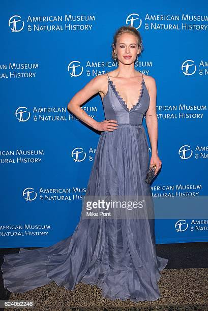Leven Rambin attends the 2016 American Museum Of Natural History Museum Gala at American Museum of Natural History on November 17 2016 in New York...
