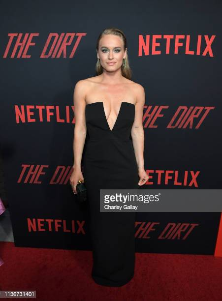 Leven Rambin attends the premiere of Netflix's 'The Dirt at the Arclight Hollywood on March 18 2019 in Hollywood California