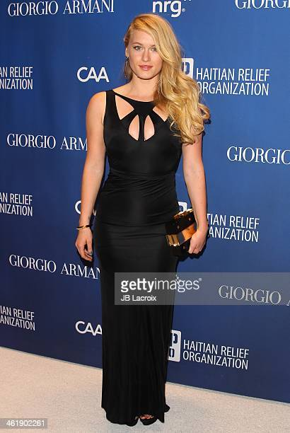 Leven Rambin attends the Sean Penn 3rd Annual Help Haiti Home Gala Benefiting J/P HRO Presented By Giorgio Armani at Montage Beverly Hills on January...