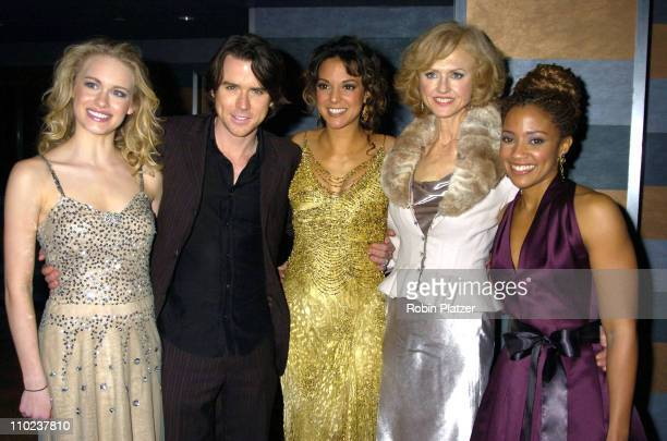 Leven Rambin Christian Campbell Eva La Rue and Jill Larson and Tanisha Lynn