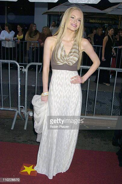 Leven Rambin during 32nd Annual Daytime Emmy Awards Outside Arrivals at Radio City Music Hall in New York City New York United States