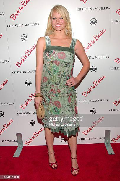 Leven Rambin during Christina Aguilera's NYC Album Release Party August 15 2006 at Marquee in New York City New York United States