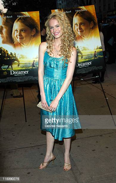 Leven Rambin during DreamWorks' NY 'Dreamer Inspired by a True Story' Fathers and Daughters Screening at Chelsea West Theatre in New York City New...