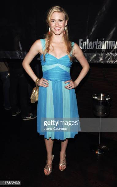"""Leven Rambin during Entertainment Weekly's """"Must List"""" Atmosphere and Trade Shots at Buddha Bar in New York City New York United States"""