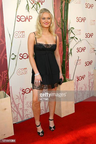 Leven Rambin during SOAPnet Hosts 'Night Before' Party for the 2007 Daytime Emmy Award Nominees at Boulevard3 in Hollywood California United States
