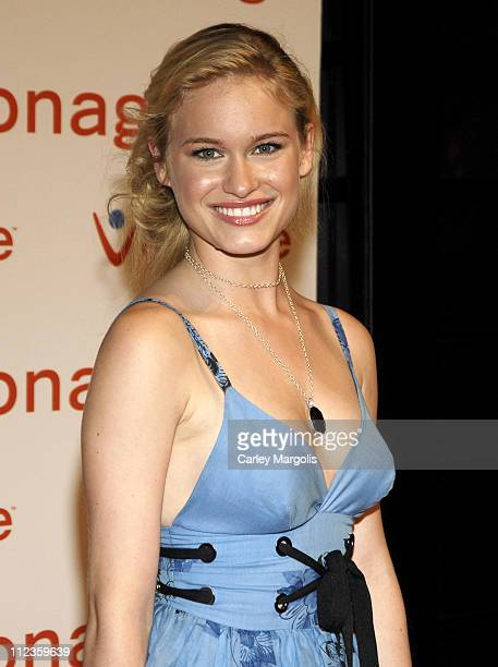 Leven Rambin during Vonage VPhone Internet Phone Launch Party June 28 2006 at Aer Lounge in New York City New York United States