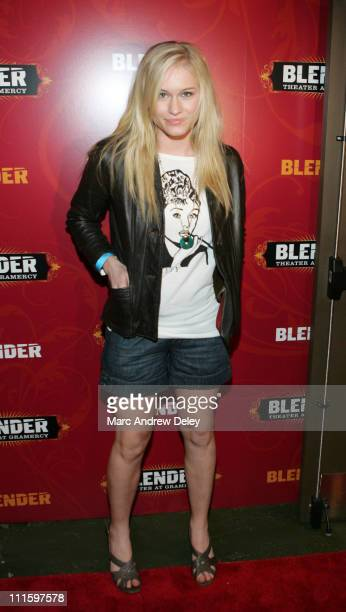 Leven Rambin during Wolfmother Perform Live at Grand Opening of Blender Theater at Gramercy at Gramercy Theater in New York, New York, United States.