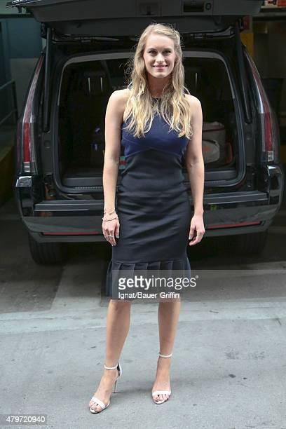 Leven Rambin is seen on July 06 2015 in New York City