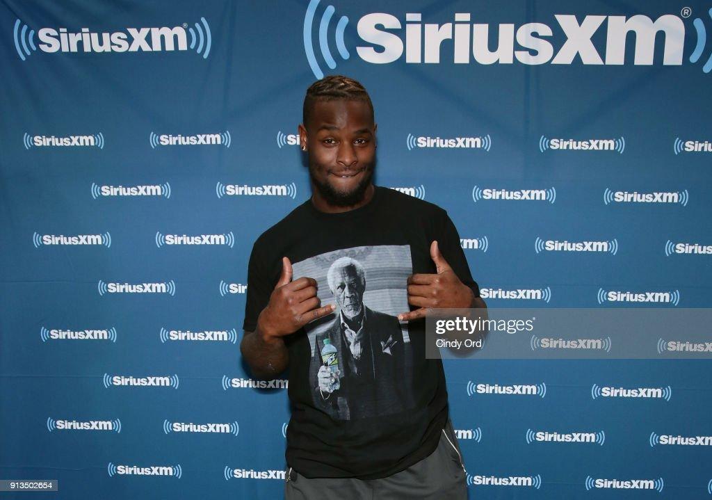 SiriusXM At Super Bowl LII : News Photo