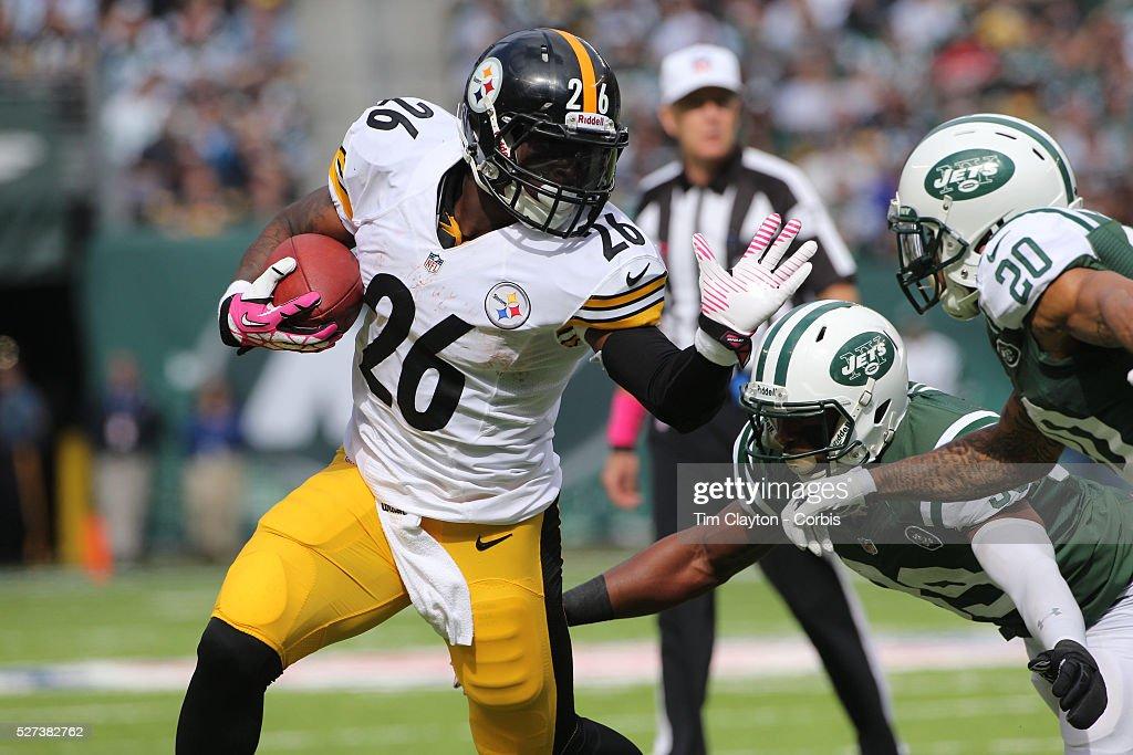 New York Jets V Pittsburgh Steelers NFL American Football. MetLife Stadium. : News Photo