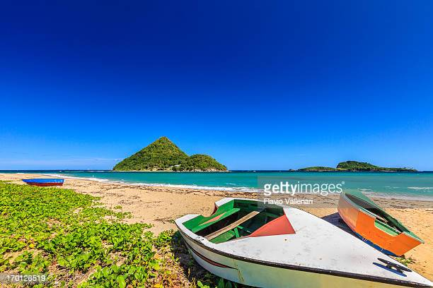 levera beach, granada w.i. - paisajes de isla de  granada fotografías e imágenes de stock