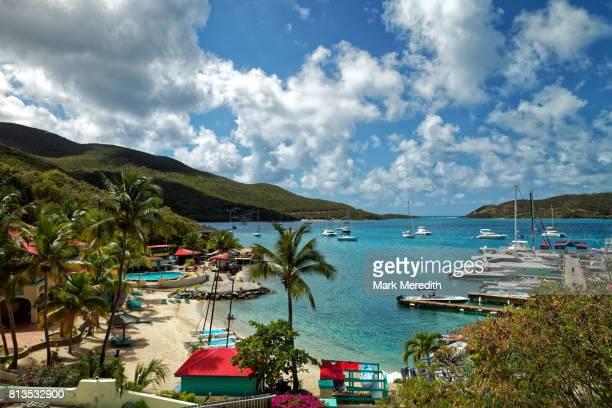 leverick bay, virgin gorda, british virgin islands - islas de virgin gorda fotografías e imágenes de stock