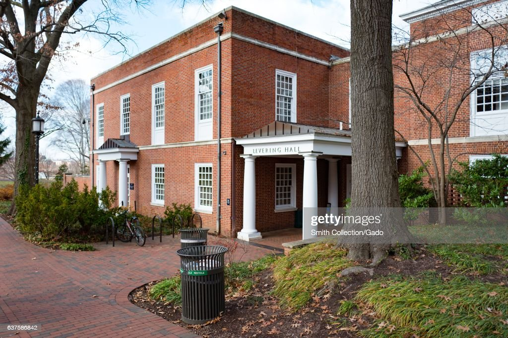 Levering Hall, Johns Hopkins : News Photo