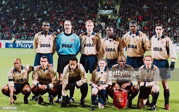 LEAGUE 01/02 Leverkusen BAYER 04 LEVERKUSEN ARSENAL LONDON FC 11 TEAM ARSENAL LONDON