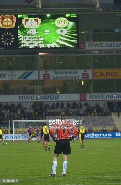 1 BUNDESLIGA 01/02 Leverkusen BAYER 04 LEVERKUSEN BORUSSIA DORTMUND 40 Jens LEHMANN/BORUSSIA DORTMUND