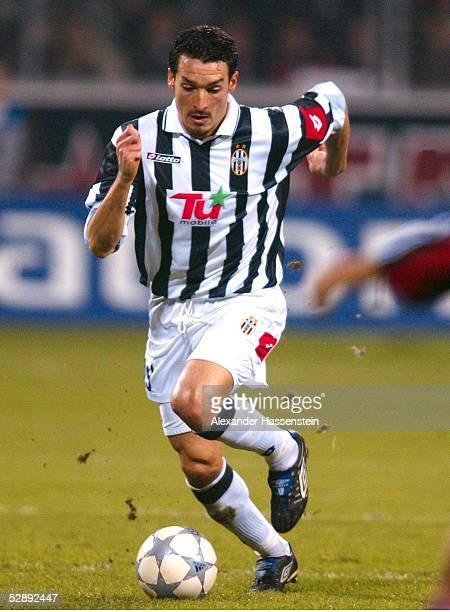 LEAGUE 01/02 Leverkusen BAYER 04 LEVERKUSEN JUVENTUS TURIN 31 Gianluca ZAMBROTTA/TURIN
