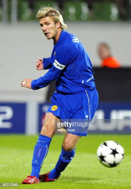 LEAGUE 02/03 Leverkusen BAYER 04 LEVERKUSEN MANCHESTER UNITED 12 David BECKHAM/MANCHESTER