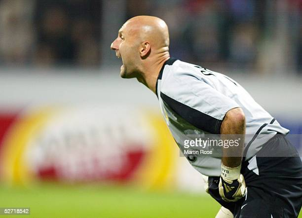 LEAGUE 02/03 Leverkusen BAYER 04 LEVERKUSEN MANCHESTER UNITED 12 TORWART Fabien BARTHEZ/MANCHESTER