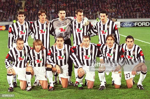 Leverkusen BAYER LEVERKUSEN JUVENTUS TURIN 31 Team/Mannschaft Juventus Turin hintere Reihe vlks Ciro FERRARA Alessio TACCHINARDI Torwart Gianluigi...