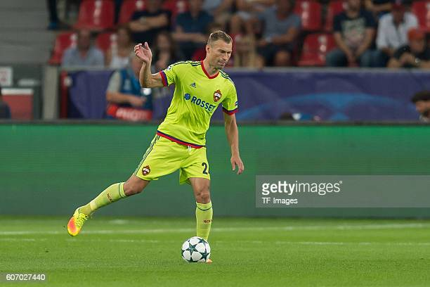 Leverkusen, Germany , UEFA Champions League - 2016/17 Season, Group E - Matchday 1, Bayer 04 Leverkusen - ZSKA Moskau, 2:2, Vasili Berezutski