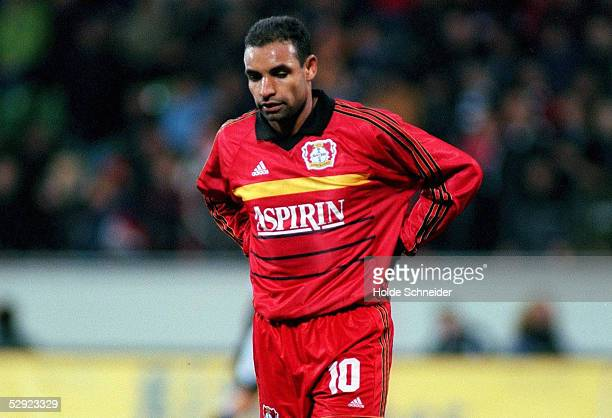 Leverkusen; TSV BAYER 04 LEVERKUSEN - UDINESE CALCIO 1:2; ENTTAEUSCHUNG bei EMERSON/LEVERKUSEN