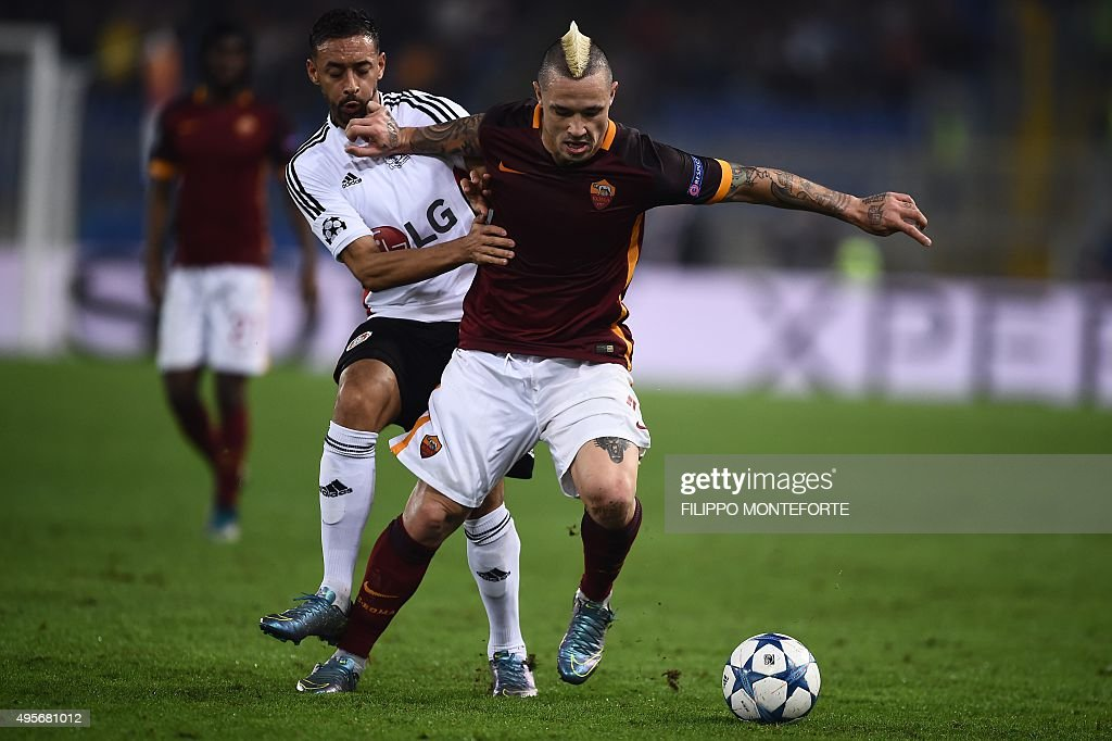 FBL-EUR-C1-ROMA-LEVERKUSEN : News Photo