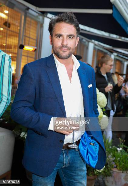 Leveson Wood attends the Taylor Morris Eyewear x Aspall Tennis Classic Player's Party at Bluebird Chelsea on June 28 2017 in London England