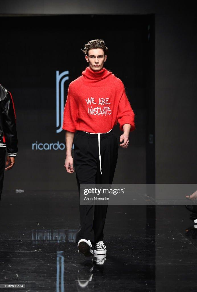 CA: Ricardo Seco at Los Angeles Fashion Week FW/19 Powered by Art Hearts Fashion