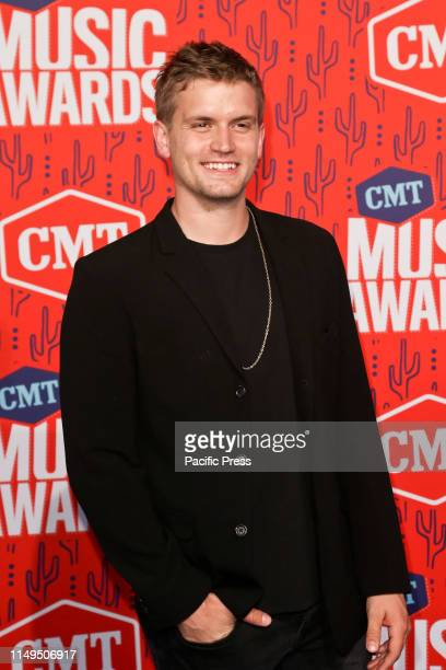 Levi Hummon attends the 2019 CMT Music Awards at the Bridgestone Arena in Nashville Tennessee