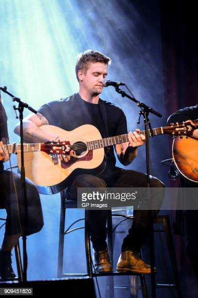 Levi Hummon performs at the CMA Songwriters Series held at the Great Hall on January 23 2018 in Toronto Canada