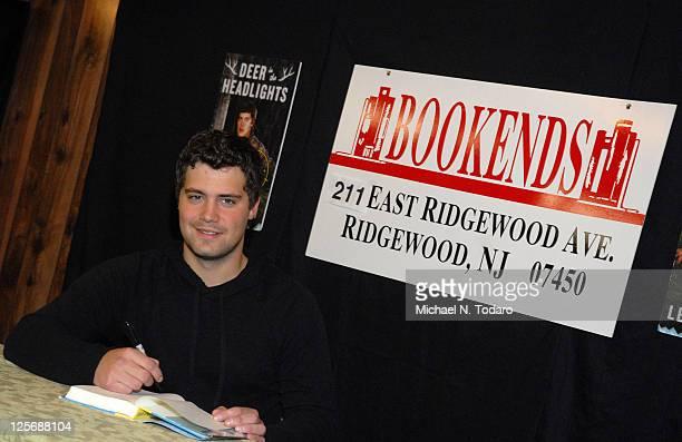 Levi Johnston promotes Deer In Headlights on September 20 2011 in Ridgewood United States