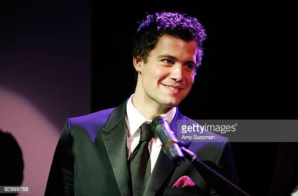 Levi Johnston speaks at the 2009 Fleshbot Awards at The Box on November 11 2009 in New York City