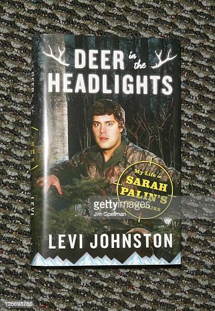Levi Johnston's book Deer In Headlights on September 20 2011 in Ridgewood New Jersey