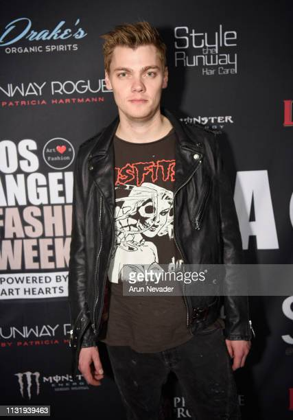 Levi Maeden at Los Angeles Fashion Week FW/19 Powered by Art Hearts Fashion at The Majestic Downtown on March 21 2019 in Los Angeles California