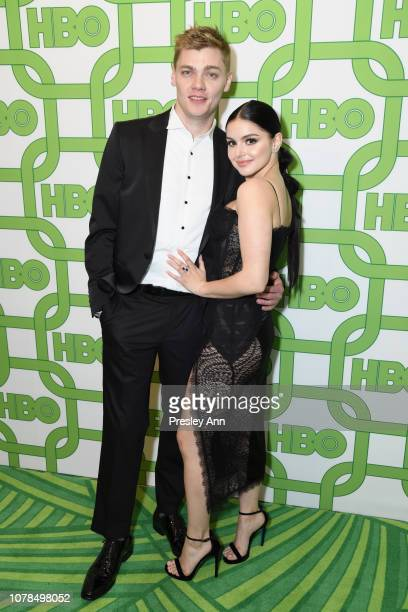 Levi Meaden and Ariel Winter attend HBO's Official Golden Globe Awards After Party at Circa 55 Restaurant on January 6 2019 in Los Angeles California