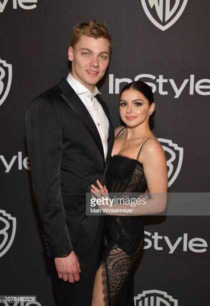 Levi Meaden and Ariel Winter attend the 2019 InStyle and Warner Bros 76th Annual Golden Globe Awards PostParty at The Beverly Hilton Hotel on January...