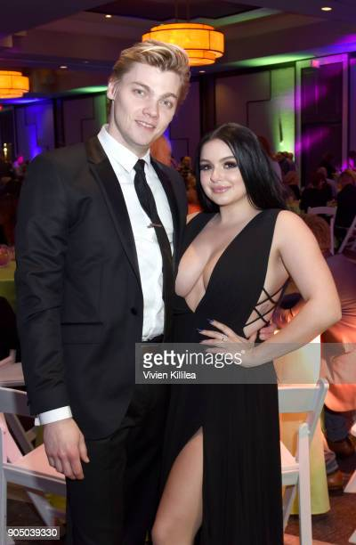 Levi Meaden and Ariel Winter attend the 29th Annual Palm Springs International Film Festival Closing Night Screening of 'The Last Movie Star'...