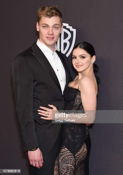 Levi Meaden and Ariel Winter attends the InStyle And Warner Bros Golden Globes After Party 2019 at The Beverly Hilton Hotel on January 6 2019 in...